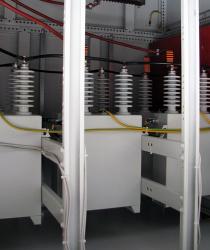 Kondenzátorová baterie 22 kV, VTE Mlýnský Vrch, 1,2 MVAr