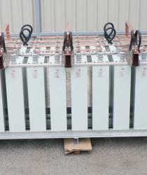 Kondenzátorová baterie 35 kV, XSTRATA, 15,8 MVAr