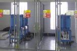 Hradicí členy 216,6 Hz, 22 kV, 4 MVA ČOV Modřice