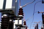 Přívod napětí do kondenzátorové baterie C2 - vysílač HDO 110 kV