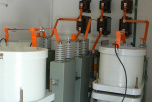 C2 battery - 22 kV Ripple Control transmitter