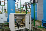 L2C2 case for remote tap regulation of regulating winding of coupling transformers (110 kV)