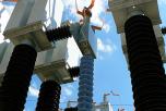 BO-08F - insulation of HV potential (110kV transmitter)