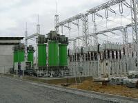 110 kV Ripple Control transmitter - coupling transformers + C2 capacitor batteries
