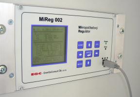 Mikropočítačový regulátor MiReg