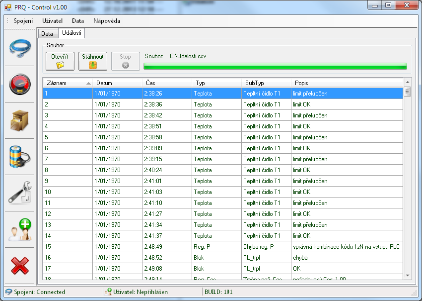 Software - PRQ Control